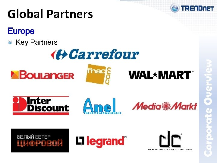 Europe Key Partners Corporate Overview Global Partners