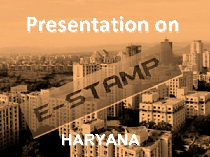 Presentation on HARYANA