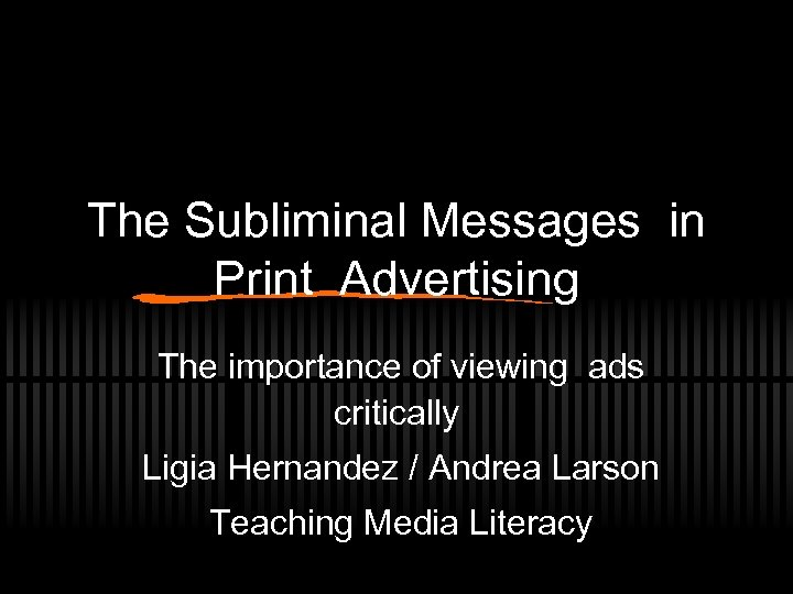 importance of ads