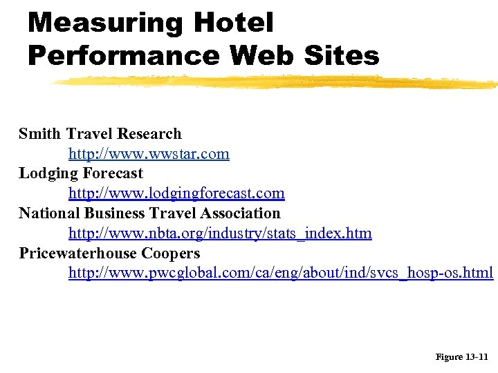 Measuring Hotel Performance Web Sites Smith Travel Research http: //www. wwstar. com Lodging Forecast