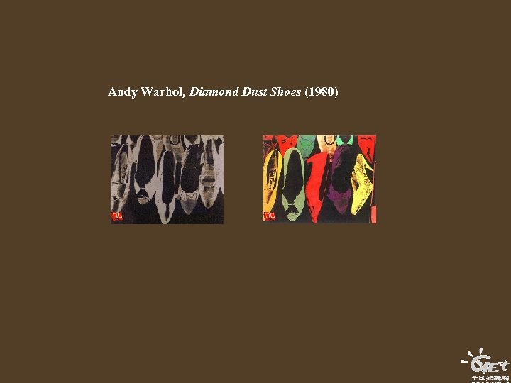 Andy Warhol, Diamond Dust Shoes (1980)