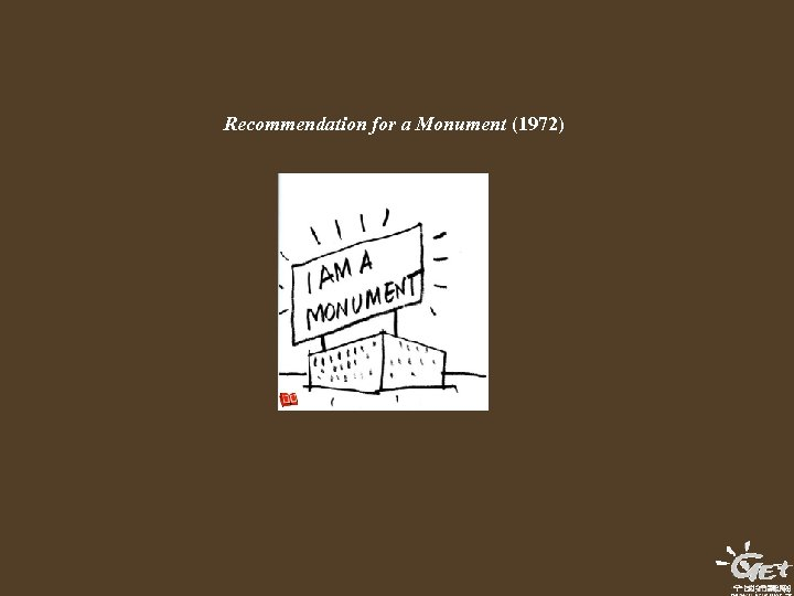 Recommendation for a Monument (1972)