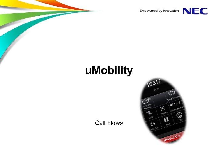 u. Mobility Call Flows