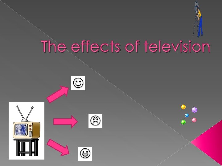 an analysis of the effects of the television on human beings Television frequently portrays a much more violent world than the real one, and this can have an effect on kids: children who have seen significant amounts of violence on tv are more likely to believe that the world is a frightening place.