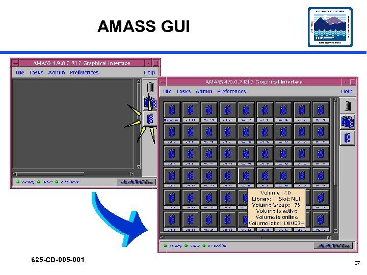 AMASS GUI 625 -CD-005 -001 37