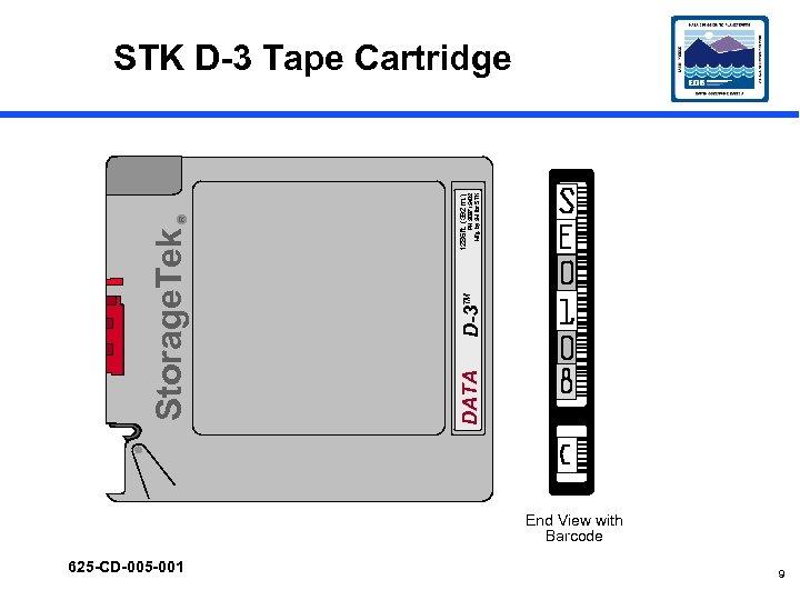 625 -CD-005 -001 DATA D-3 TM PN 309715402 Mfg. by 3 M for STK