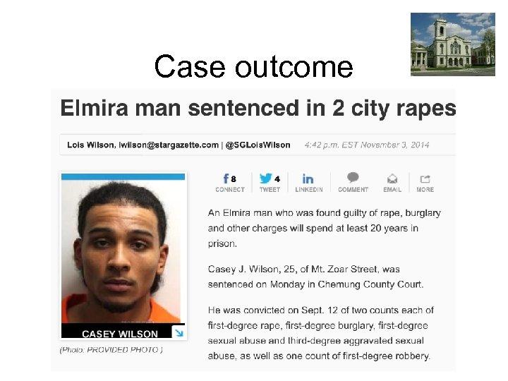 Case outcome