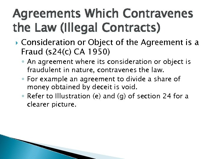 Business Law Of Contract Chapter 6 Consent