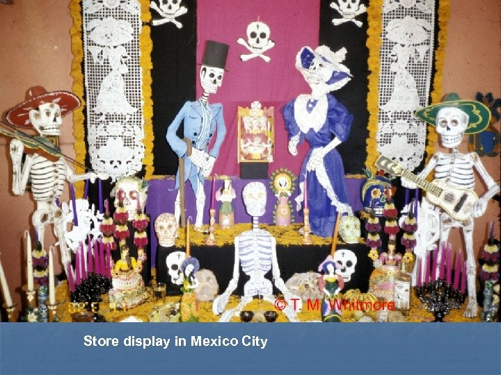 Store display in Mexico City