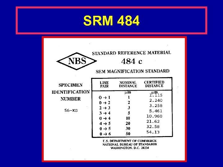 SRM 484