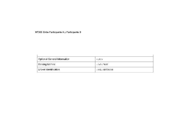 MT 300 Entre Participante A y Participante B