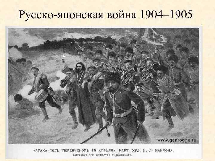 Русско-японская война 1904– 1905