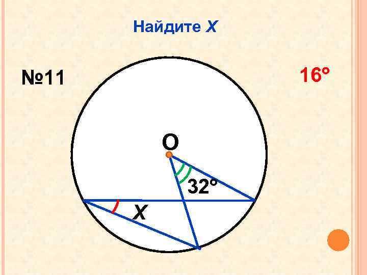 Найдите Х 16 № 11 О 32 Х