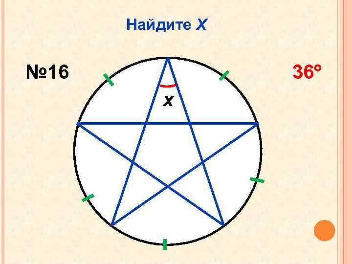 Найдите Х № 16 36 x
