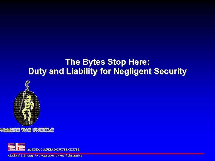 The Bytes Stop Here: Duty and Liability for Negligent Security