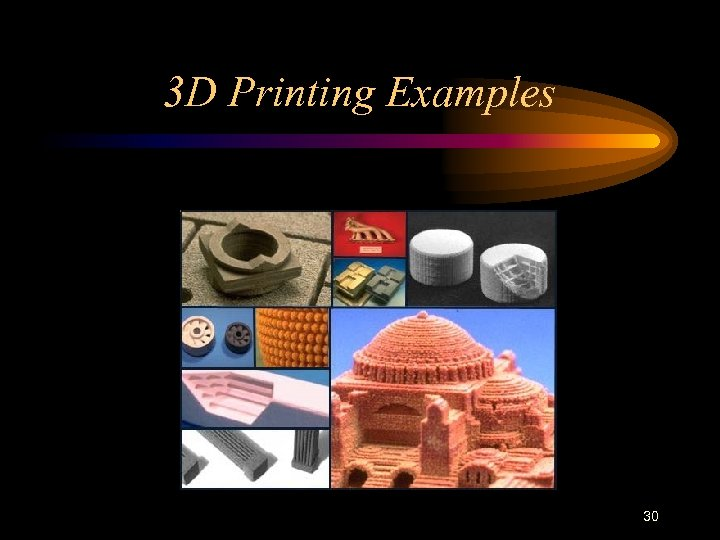 3 D Printing Examples 30
