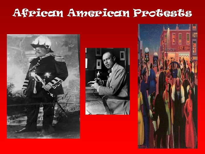 African American Protests