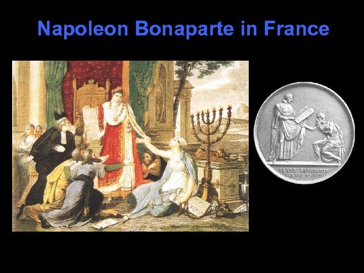 Napoleon Bonaparte in France