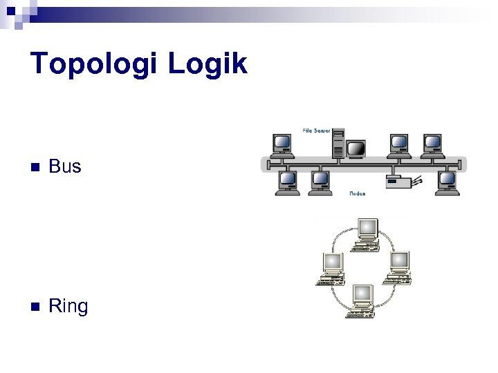 Topologi Logik n Bus n Ring