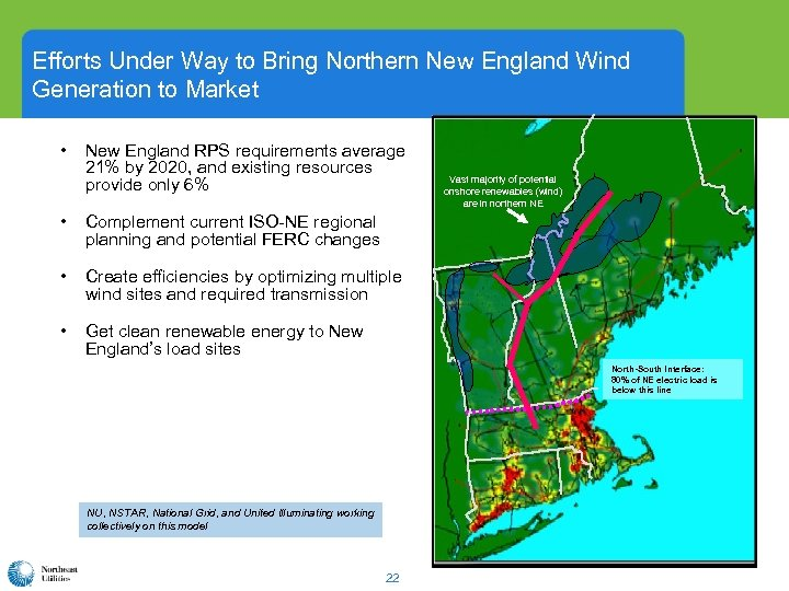 Efforts Under Way to Bring Northern New England Wind Generation to Market • New