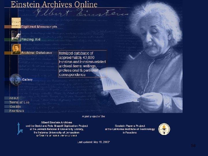 www. alberteinstein. info 58