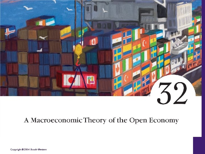 A Macro Theory of the Open Economy Copyright © 2004 South-Western 32