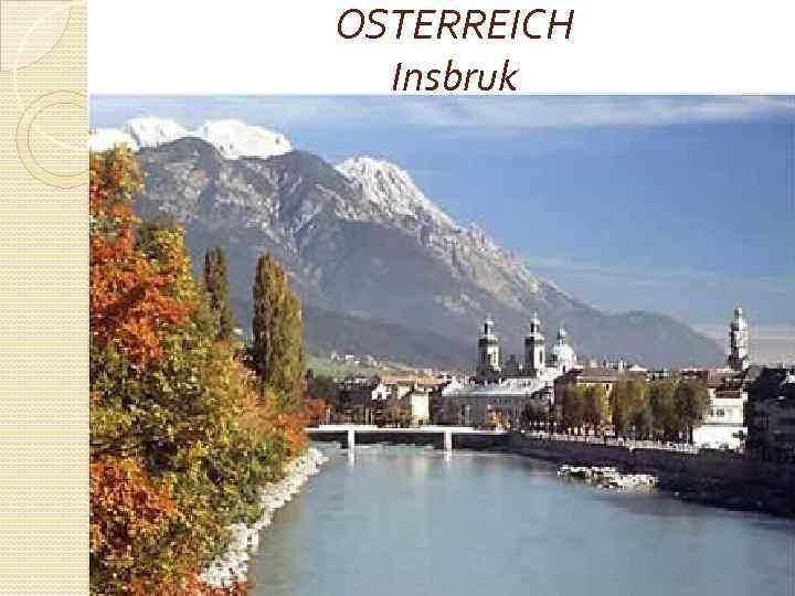 OSTERREICH Insbruk