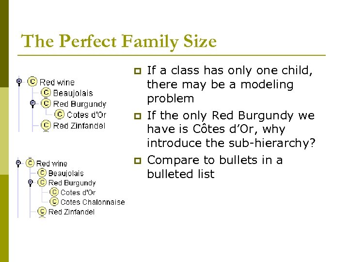 The Perfect Family Size p p p If a class has only one child,