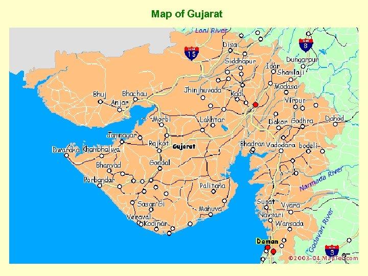 Map of Gujarat 3