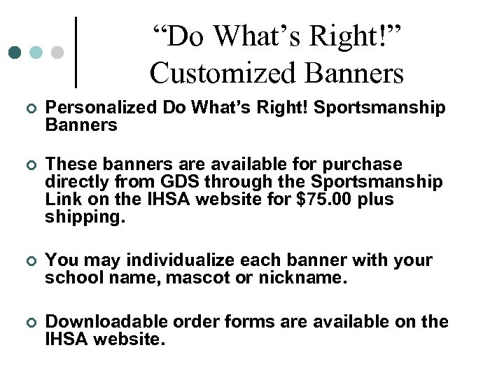 """""""Do What's Right!"""" Customized Banners ¢ Personalized Do What's Right! Sportsmanship Banners ¢ These"""