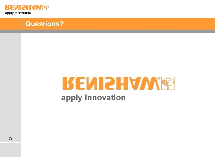 apply innovation Questions? apply innovation 59