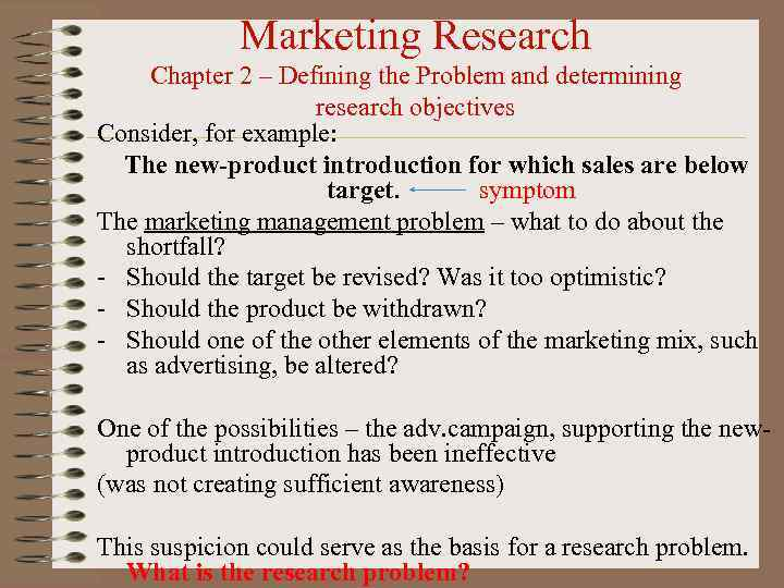 examples of research objectives in marketing research