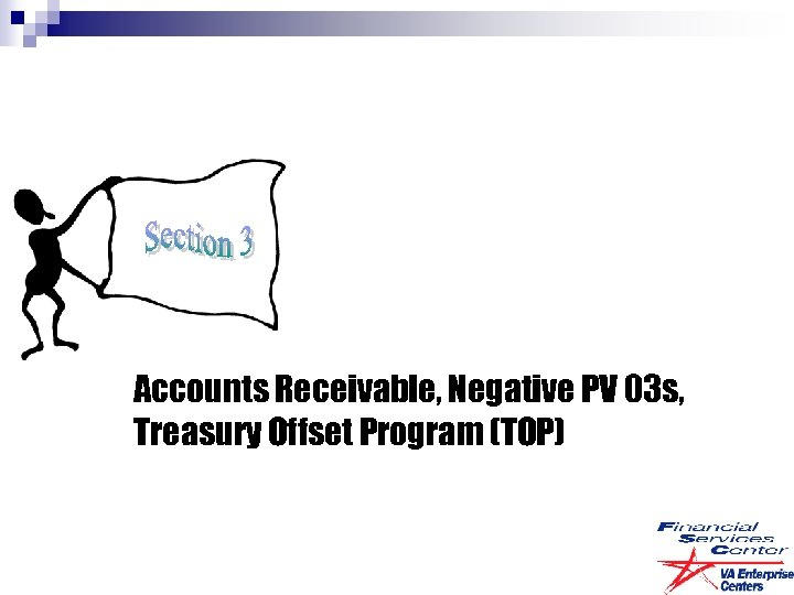 Accounts Receivable, Negative PV 03 s, Treasury Offset Program (TOP)