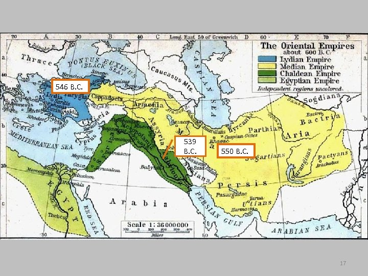 546 B. C. 539 B. C. 550 B. C. 17