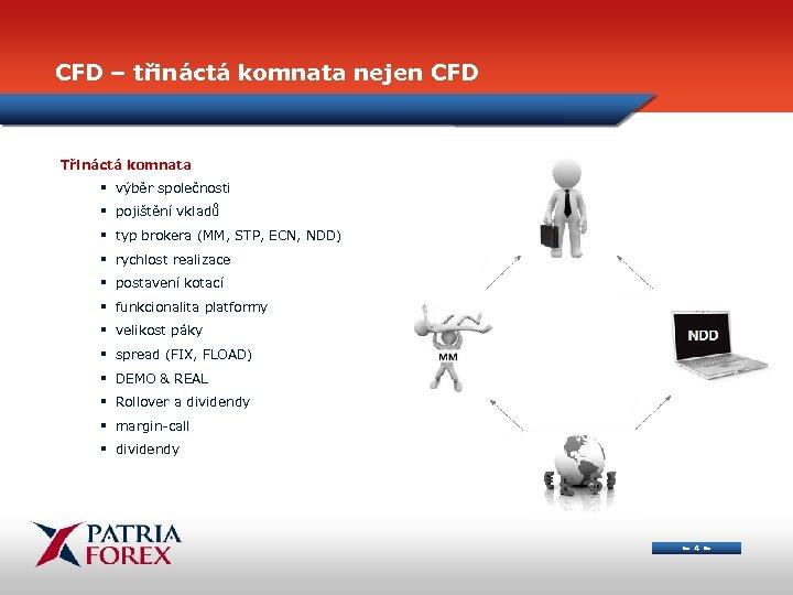 CFD – třináctá komnata nejen CFD Třináctá komnata § výběr společnosti § pojištění vkladů