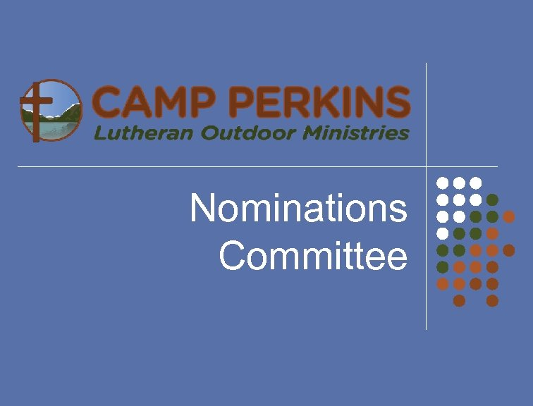 Nominations Committee