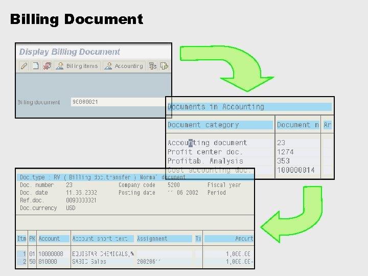 Billing Document