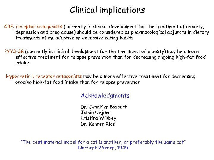 Clinical implications CRF 1 receptor antagonists (currently in clinical development for the treatment of