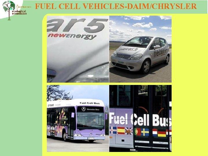 FUEL CELL VEHICLES-DAIM/CHRYSLER