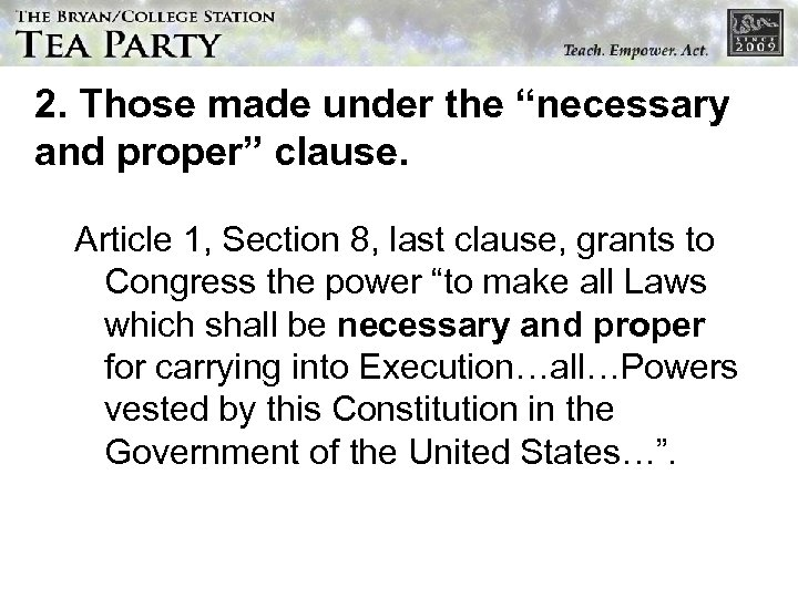 Constitution In 10 Lessons Lesson 8 Jury Nullification