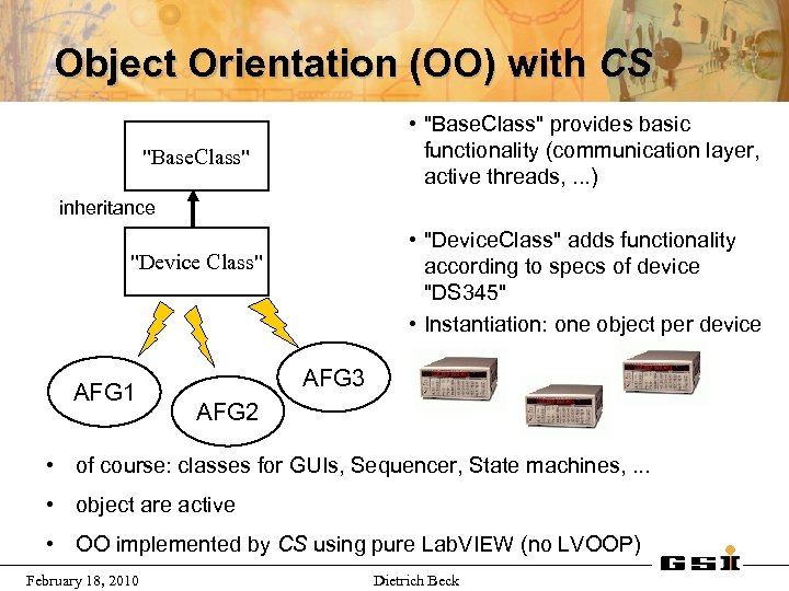 Object Orientation (OO) with CS •