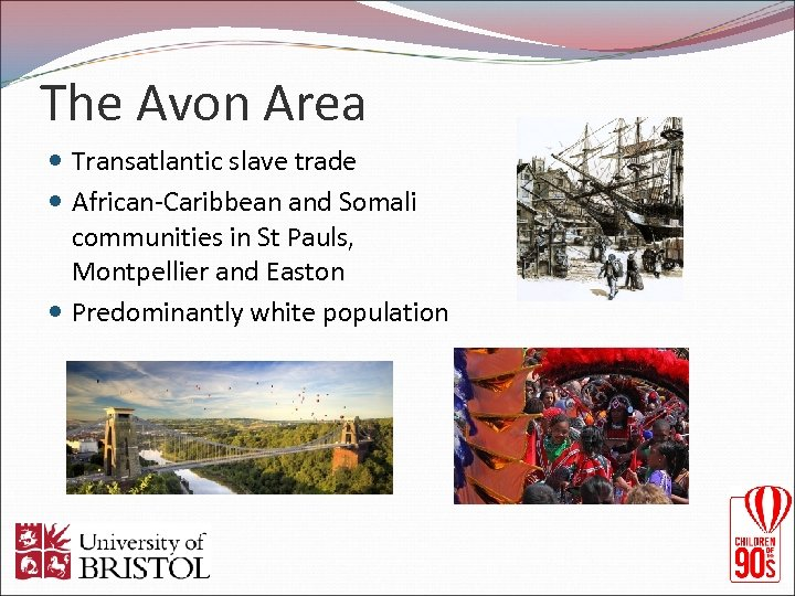 The Avon Area Transatlantic slave trade African-Caribbean and Somali communities in St Pauls, Montpellier