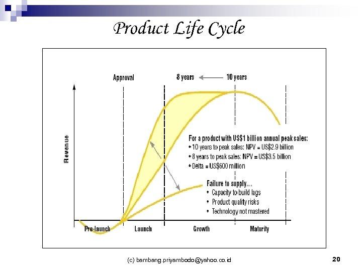 Product Life Cycle (c) bambang. priyambodo@yahoo. co. id 20