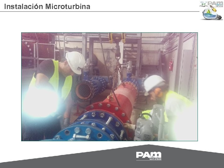 Instalación Microturbina