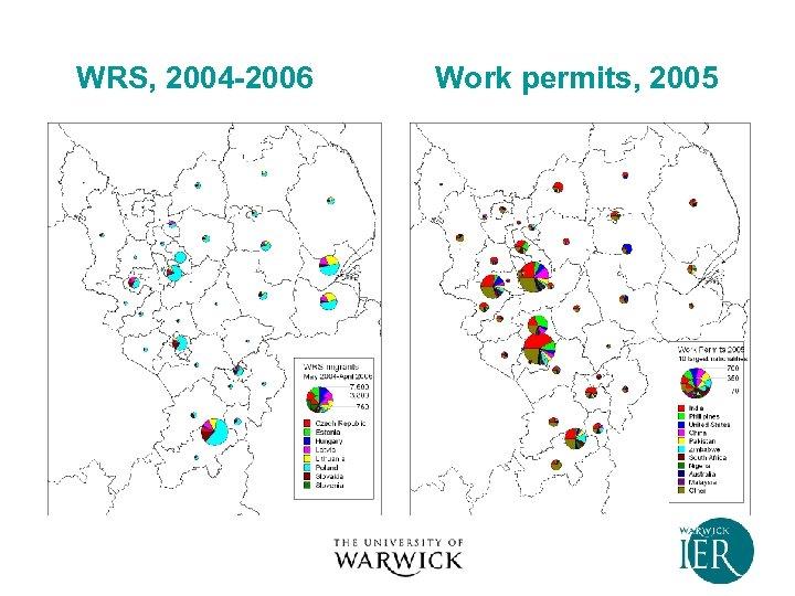 WRS, 2004 -2006 Work permits, 2005