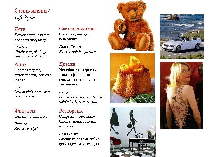 Стиль жизни / Life. Style Дети Светская жизнь Детская психология, образование, мода События, звезды,