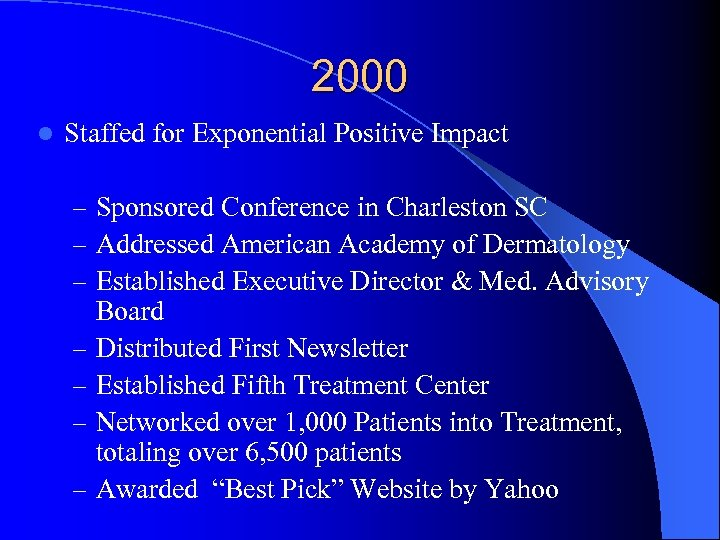 2000 l Staffed for Exponential Positive Impact – Sponsored Conference in Charleston SC –