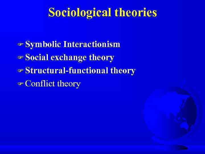 Lecture 1 Sociological Theories By Mira Maulsharif Ph