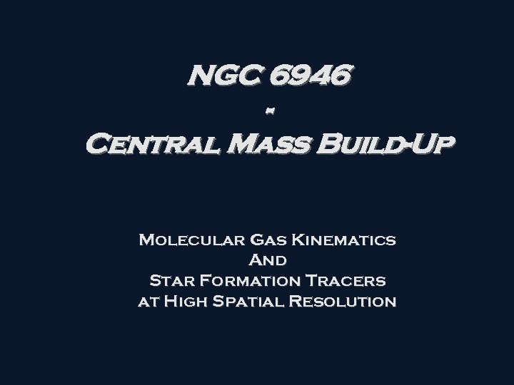 NGC 6946 Central Mass Build-Up Molecular Gas Kinematics And Star Formation Tracers at High