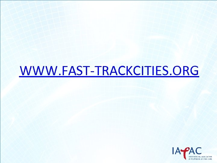 WWW. FAST-TRACKCITIES. ORG